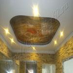 Многоуровневый потолок фото 18