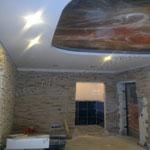 Многоуровневый потолок фото 19