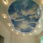 Многоуровневый потолок фото 22