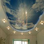 Многоуровневый потолок фото 23