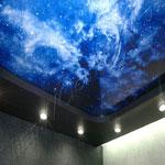 Многоуровневый потолок фото 34