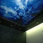 Многоуровневый потолок фото 36