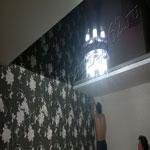 Многоуровневый потолок фото 43