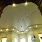 Многоуровневый потолок фото 53