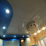 Многоуровневый потолок фото 80